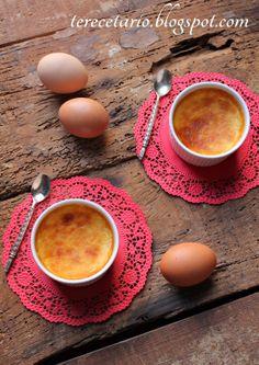 Flan de queso mascarpone y leche condensada
