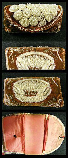 iriquios beadwork  | Historic Iroquois and Wabanaki Beadwork