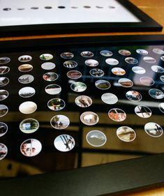 Travel Photos Confetti Display – Plus DIY Printables Guide  #travelphotos #travel #DIY #photos