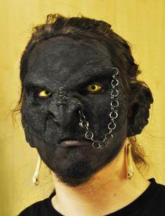 Draugur the Orch-shamans face by ~AlexAvander on deviantART