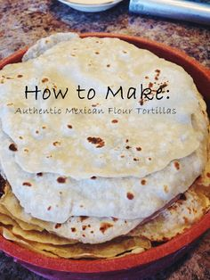 Authenic Mexican Flour Tortillas – All of Everything Recipes With Flour Tortillas, Homemade Tortillas, Corn Tortilla Recipes, How To Make Tortillas, Recipe For Tortillas De Harina, New Mexican Tortilla Recipe, Flour Tortilla Recipe No Lard, Making Tortillas, Gastronomia