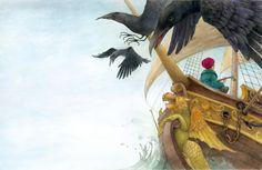 Lina Dudaite.. Illustrators, Illustration, Painting, Art, Fairy Tales