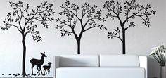 Contemporary Wall Forest
