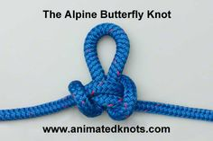 Tutorial on Alpine Butterfly Loop (Lineman's Loop) Tying