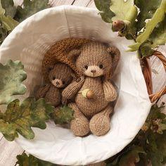 Crochet Bear, Cool Toys, Free Pattern, Crochet Patterns, Teddy Bear, Dolls, Animals, Tricot, Amigurumi