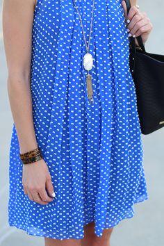 Kendra Scott and Anthropologie Dress