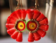 Paper Quilling Earrings Designs And Ideas
