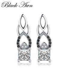 18K or blanc rempli-Fleur Améthyste Peridot Ruby Morganite Dangle Earrings