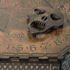 Lord Mock's Skull Planchette Spirit Pointer by LordMockDesigns