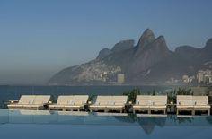 Poolside at The Hotel Fasano Rio de Janeiro by Philippe Starck » CONTEMPORIST