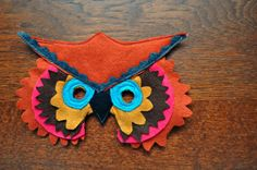 Elsie Marley: Category 'craft': Children's Felt Masks  Love!