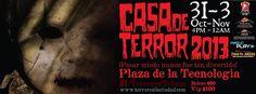 ¡¡Los invitamos por 3a ocacion a nuestra casa de espantos en Toluca!!  Esta vez la locación será en en mero centro!!...  | http://www.event2me.com/6497795