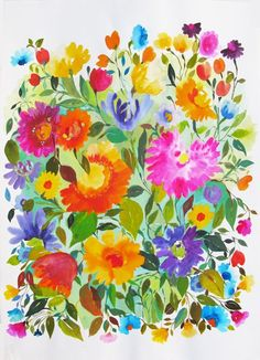 Kim Parker watercolors