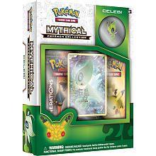 Pokemon 2016 Mythical Celebi Pin Box Trading Card Game