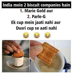 Isiliye Mein biscuits hi nahi khati....