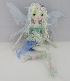 The Original Kaerie Faerie Soft Sculpture fairy doll, handmade in the USA by Kaeriefaerie52 on Etsy
