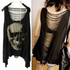 Camiseta Feminina Skull