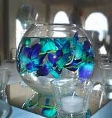 How perfect! It just screams ocean! My exact perfect center piece! Well I might find something else!