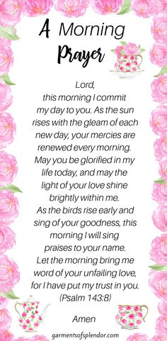 Seven Ways to Meet with God in the Morning - marriage advice quote Good Morning Prayer, Morning Blessings, Morning Prayers, Good Morning Quotes, Prayer For Bedtime, Morning Prayer Catholic, Good Morning Scripture, Blessed Morning Quotes, Powerful Morning Prayer