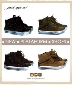 New Plataform Shoes   || SHOP ONLINE  ||