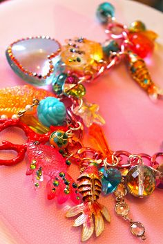 Sea of Love Charm Bracelet - Fun Under the Sea - Koi Candy | Flickr - athinalabella1