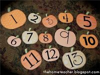 The Home Teacher: 13 Day Countdown to Halloween... Ready to Go!