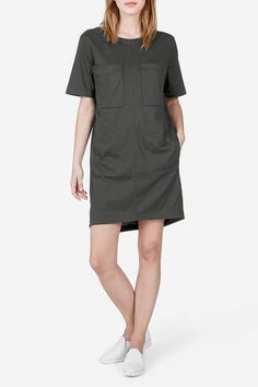 POCKETS!  This one by Everlane (comfortable clothing - I have sweatshirt - really good cotton).