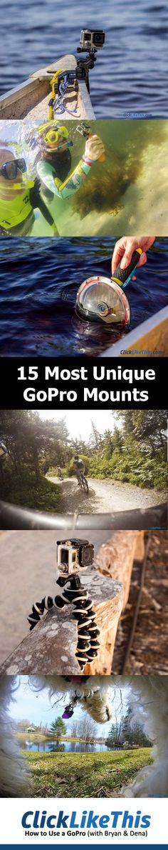 Best unique GoPro mounts