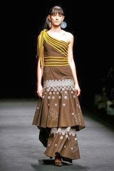 Shweshwe traditional dress for Women - Real Hair Cut South African Fashion, African Fashion Designers, African Inspired Fashion, Africa Fashion, African Dresses For Women, African Print Dresses, African Attire, African Prints, Xhosa Attire