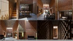 """Pixelpark's incredibly detailed visuals are inspired by the real """"Termitary House"""" in Thanh Khê District, Da Nang, Vietnam designed by A+Award-winning firm T..."""