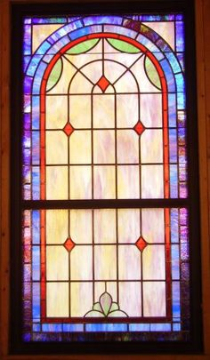 Stained Glass Windows at Cedar Hill Baptist Church in LaFollette, TN