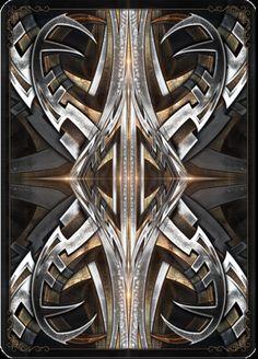Huawei Wallpapers, Custom Decks, Fractals, Door Handles, Playing Cards, Steel, Beautiful, Frames, Bicycle