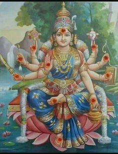 What Makes Ashtanga Yoga Different? Saraswati Goddess, Indian Goddess, Mother Goddess, Goddess Lakshmi, Shiva Shakti, Saraswati Mata, Om Namah Shivaya, Lakshmi Images, Shri Hanuman