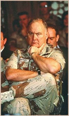 "Norman Schwarzkopf US Army aka ""Stormin' Norman"" One of my Heroes, now home with Jesus Military Life, Military History, Military Veterans, Real Hero, My Hero, American Pride, American History, American Veterans, God Bless America"