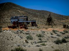 Ore Processing, Goldpoint, NV