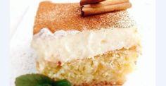 Πολίτικο με αφράτη κρέμα Greek Sweets, Greek Desserts, Greek Recipes, Fun Desserts, Vanilla Cake, Food Processor Recipes, Deserts, Cooking Recipes, Lemon