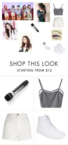 """EXID(이엑스아이디) - L.I.E (엘라이)"" by roselinaexo-sugaa ❤ liked on Polyvore featuring beauty, WithChic, River Island and Vans"