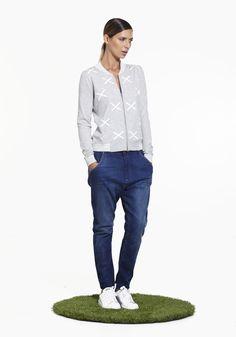 Hypnotic Bomber NINETEEN//46 SS15 100% cotton NZ$235 #knitwear #summerknitwear #summer2015