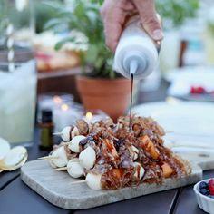 Italian Summer Skewers with Rosemary Oil | doTERRA Essential Oils | dōTERRA Essential Oils