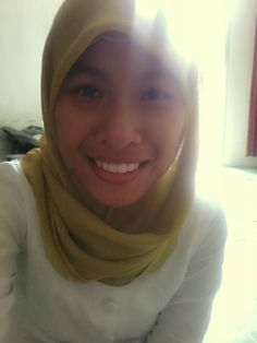 This is my first appearance wearing jilbab and being a hijaber :)