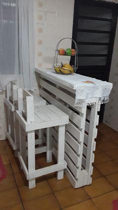Pallet Ideas Easy, Diy Pallet Projects, Furniture Projects, Home Furniture, Indoor Pallet Furniture, Outdoor Furniture Plans, Diy Home Crafts, Diy Home Decor, Palette Deco