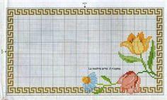 Geri Dönüşüm Projeleri Hardanger Embroidery, Ribbon Embroidery, Cross Stitch Embroidery, Cross Stitch Designs, Cross Stitch Patterns, Cross Stitch Flowers, Floral, Needlework, Projects To Try