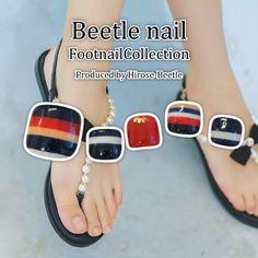 #フットネイル #大人女子の身だしなみ #ビートルネイル #Beetlenail #Beetle近江八幡 #footnail #nail https://beetle-hirose.com/nail/2017foot.html