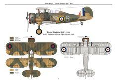 Gladiator Mk II RAF 1940