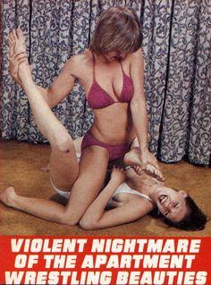 Google Wrestling Women Apartment 41
