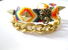 Wild Things - Stud Friendship Bracelet