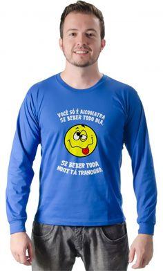 Dica #palcofashion #Camiseta - Alcoolatra #moda #fashion