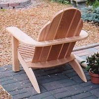 Adirondack Chair Plans and Pattern - The Cape Cod'r