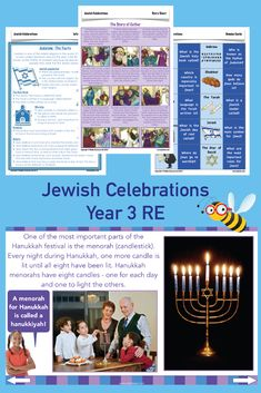 Teach your Year 3 children about the major Jewish festivals, including Passover, Sukkot, Purim, Hanu Jewish Beliefs, Story Of Esther, Plagues Of Egypt, Jewish Festivals, Jewish Celebrations, Who Book, Religious Education, Picture Cards, Judaism