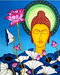 """""""The willingness to show up changes us, It makes us a little braver each time.""""    ~  Brené Brown  Artist:  Smita S Borkar  ॐ lis"""
